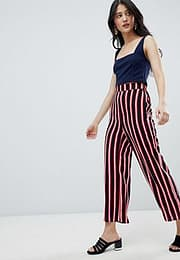 Oh My Love Culotte Trousers-Navy