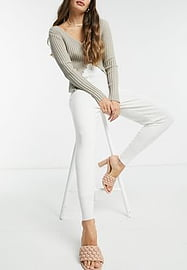 Fashion Union knitted joggers co-ord-White