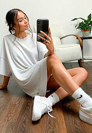 Free People Cozy Cool Girl over