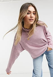 Free People Free Pepole Be Free stripe tunic top in orchid-Grey