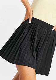 Love & Other Things gym tennis skirt in black