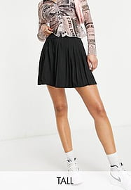 Love & Other Things Tall gym tennis skirt in black