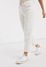MiH Jeans cord trousers in off white