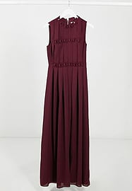 Ted Baker Saffrom origami folded maxi dress in purple
