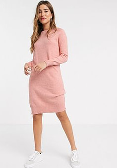 b.Young b. Young casual jumper dress-Pink