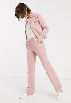 b.Young b. Young wide leg trousers-Pink