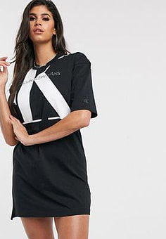 Calvin Klein T shirt dress with over