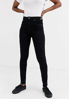 Cheap Monday High Skin skinny jeans-Black