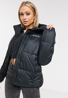 Columbia Puffect jacket in black