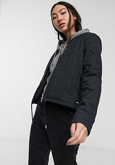 Dr Denim Ilo Jacket in black