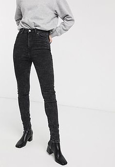 Dr Denim Zoe jean in black