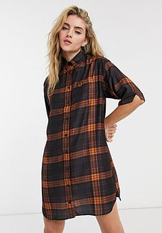 Fred Perry tartan over