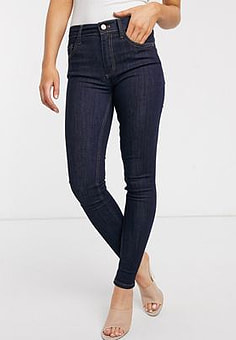 French Connection Jeans in rinse blue-Grey