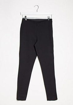 French Connection skinny high wasit trousers in black