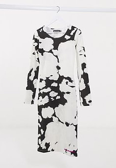 House Of Holland tie dye t-shirt dress-Multi