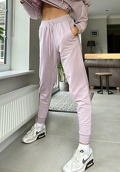 Influence joggers co-ord in lilac-Purple