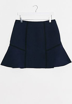 Lacoste pleated skirt in navy-Blue