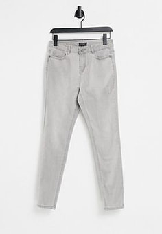 Lipsy washed skinny jeans in grey-Green