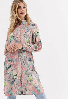 Love long shirt-Multi