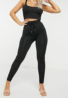 Love & Other Things high waisted leggings in black