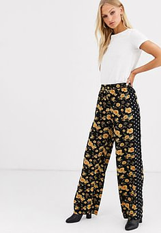 Minimum Moves By printed trousers-Multi