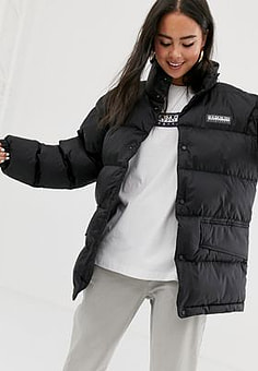 Napapijri Ari puffer jacket in black