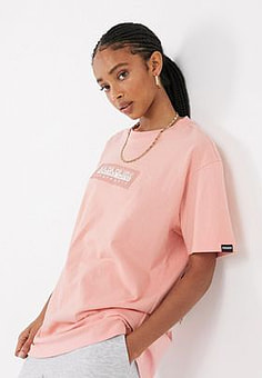 Napapijri Sox t-shirt in pink