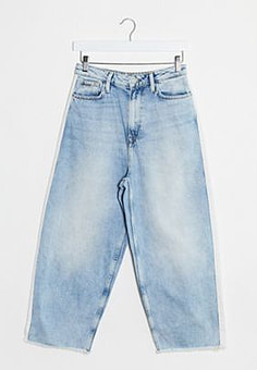 Pepe Jeans Pepe Edie co-ord jeans in light blue