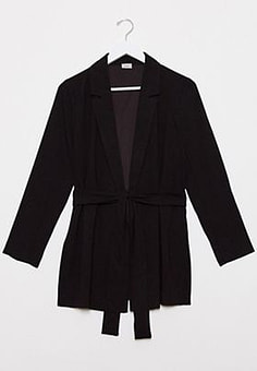 Pimkie blazer in black