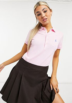 Polo Ralph Lauren classic polo top in pink