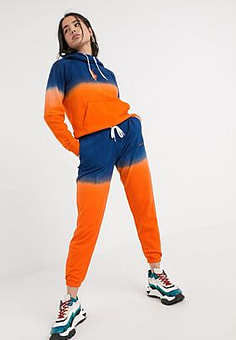 Polo Ralph Lauren colour block ombre jogger-Orange