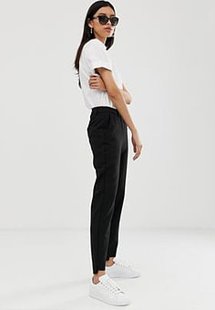 Selected Amila tailored trousers-Black