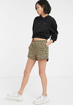 Soaked in Luxury floral shorts co-ord-Multi