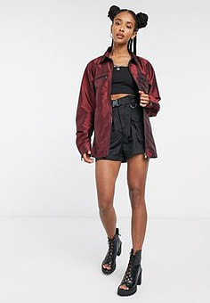 The Ragged Priest bomber jacket-Red