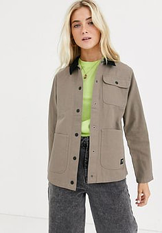 Vans Drill Chore khaki jacket-Green