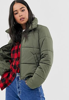 Vans Foundry Puffer green jacket
