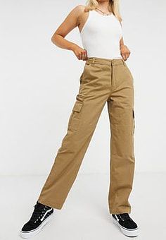 Vans Thread It cargo pant in brown