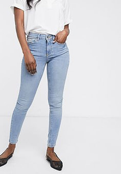Vero Moda super slim jeans-Blue