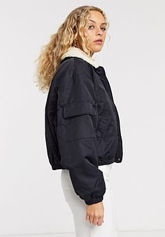 Weekday Freda Jacket-Black