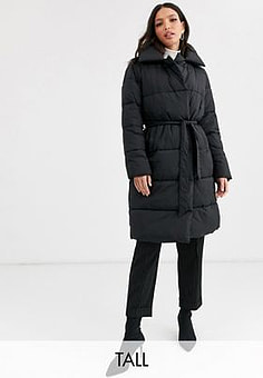 Y.A.S Summer padded coat-Black