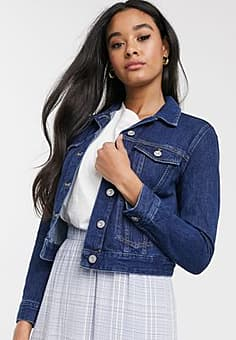 French Connection denim jacket in blue