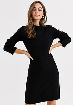 Pimkie jumper dress in black