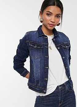 b.Young b. Young denim jacket-Navy