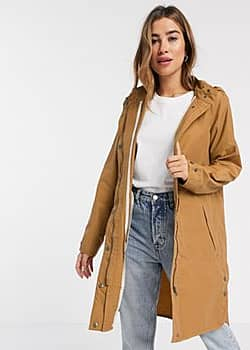 b.Young b. Young parka coat-Tan