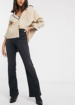 Free People Firecracker flared jean-Black