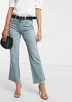 French Connection milo denim strght boot jeans-Blue
