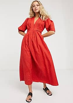 MiH Jeans MiH Avery Dress-Red