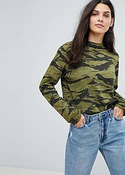 MiH Jeans Camo Print Over