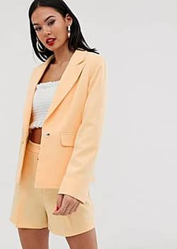 Miss Selfridge blazer in yellow