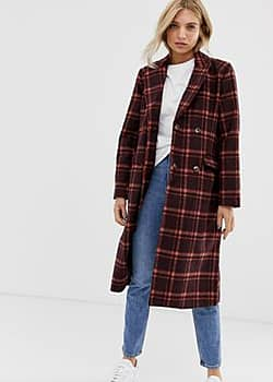Minimum Moves By check coat-Red